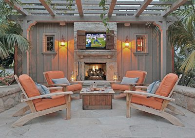 Sea Ranch Cabana Trellis